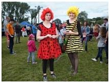 Imprezy plenerowe dla dzieci - Biedronka Ala i Pszczółka Ola