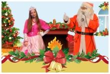 Mikołajki dla dzieci - Św. Mikołaj i królewna Kapryśnica
